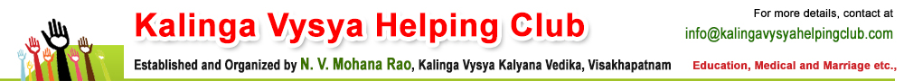 kalinga vysya helping club
